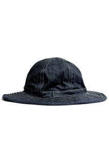 COLIMBO ZV-0606 WINFIELD DUGOUT HAT コリンボ ミリタリー ハット デニム