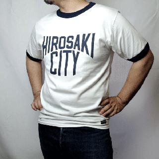 メール便対応商品(クリックポスト) 別注 フェローズ ご当地Tシャツ リンガー PHERROW'S × MANUFACTURES(BROADEN FERRY) LOCAL RINGER TEE