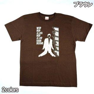 """Dry Bones PT-821 Print T-Shirt """"BOP""""ドライボーンズ イベント 半袖 Tシャツ 1950S 50S ロカビリー ビンテージ"""