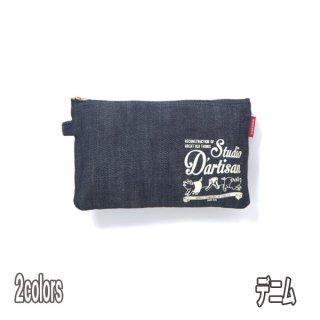 STUDIO DARTISAN 7516 マルチケース(大) ダルチザン デニム ヒッコリー 雑貨