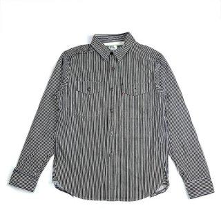 UES 502060 トラベリングシャツ ヒッコリー ウエス ジャケット 長袖