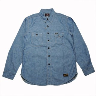 TOYS McCOY CHAMBRAY WORK SHIRT
