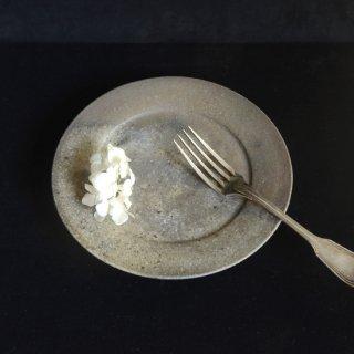 松村英治 焼締7寸皿 C