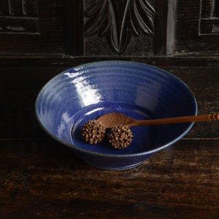 寺村光輔 瑠璃釉6.5寸浅鉢