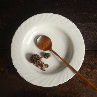 及川静香 白磁スープ皿