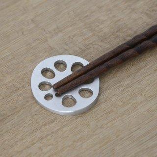 炭谷三郎商店 蓮根箸置 錫