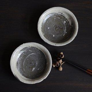 額賀円也 刷毛目4寸小鉢