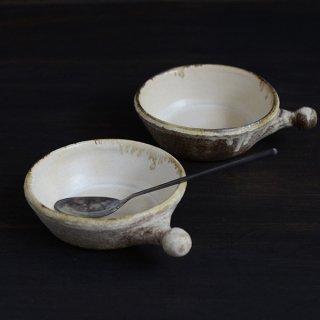 内田可織 耐熱グラタン皿 うす茶