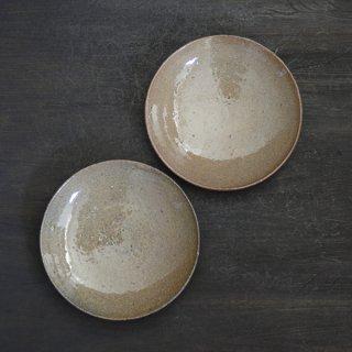 村木雄児 唐津5寸皿 15.5cm