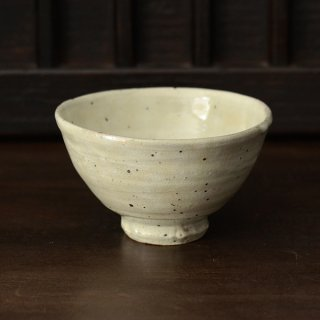 石田辰郎 粉引飯碗 2 11.5cm