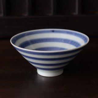 宮岡麻衣子 ぐるぐる文飯茶碗 径12.5cm 高さ6cm
