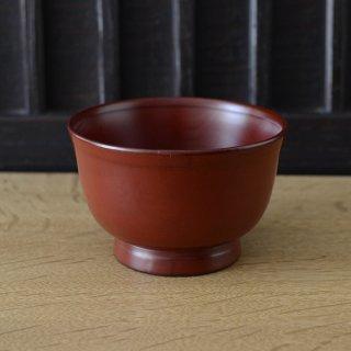 蜂谷隆之 百福オリジナル汁椀 朱