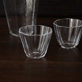 小林裕之・希 輪花杯 クリア 径6cm 高さ5cm