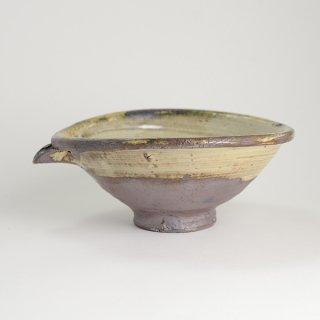 山田隆太郎 片口鉢 刷毛目 径22cm×19cm 高さ9cm