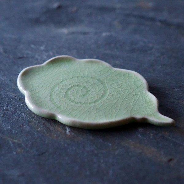 流れる雲皿|若草