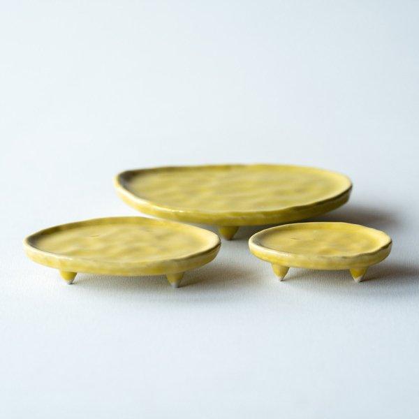 三足皿|檸檬