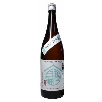 越乃白雁 黒松 かめ口生原酒(1.8L)