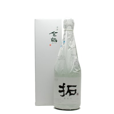 金鶴 拓 純米酒(720ml) 化粧箱入れ
