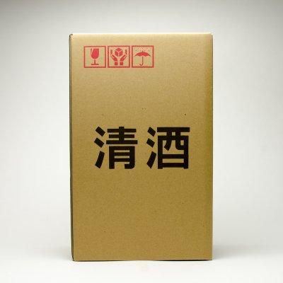 清酒720ml2本用発送ボックス