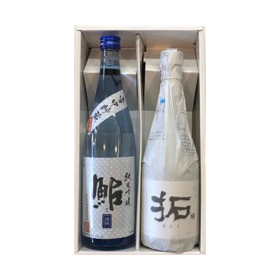 金鶴「拓」純米酒・鮎 雪中貯蔵酒720ml2本ギフトセット