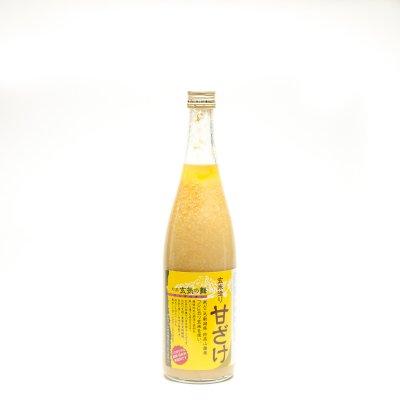 鮎正宗 玄米甘酒「玄気の舞」(720ml)