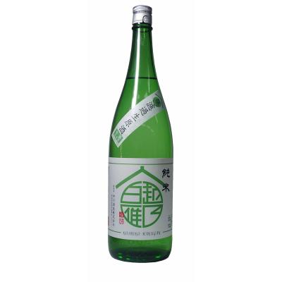 越乃白雁 純米無濾過生原酒(1.8L)