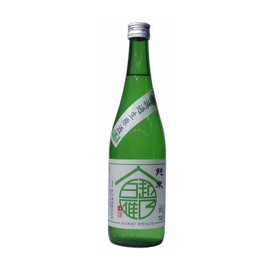 越乃白雁 純米無濾過生原酒(720ml)