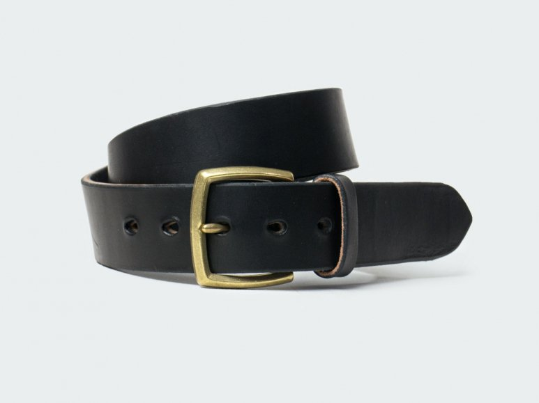 SOLID AMERICAN STEER HYDE 42 / BLACK
