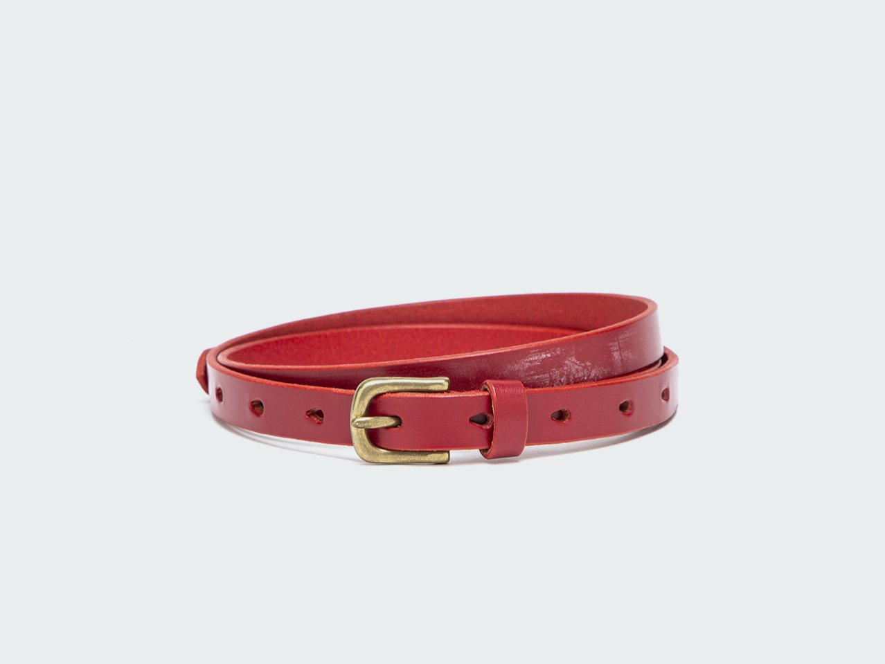 NARROW STANDARD (Bridle) 15 / RED