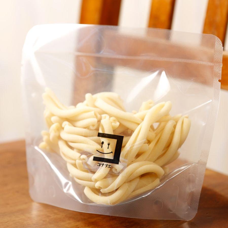 全粒粉 カザレッチェ~Casarecce~【ぐんま産オーガニック小麦×セモリナ粉】