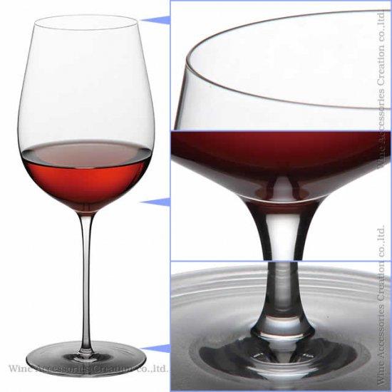 WINEX/HTT グラン ボルドー&グランブルゴーニュ セット【正規品】ZJ002ZZグラス拭き用トレシー付 GH200-201KC