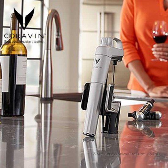 CORAVIN コラヴァン モデル2 エリート シルバー【メーカー保証+WAC保証=3年保証】 CRV1002