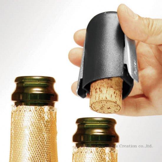 【アウトレット】プルテックス シャンパンオープナー&ストッパー TEX522/999