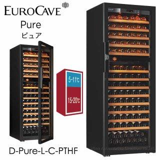 ユーロカーブ 6000シリーズ 2温度帯 CS棚仕様 170本用 フルガラス扉 6170D【CPC】