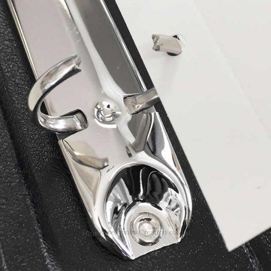 ワインラベル メモリー バインダー ブラック(窓なし)+ラベル保存シート24枚セット ZW900BNSET