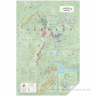 DE LONG スペイン&ポルトガル ワインマップ[ Wine Map of Spain & Portugal ] UH102MP