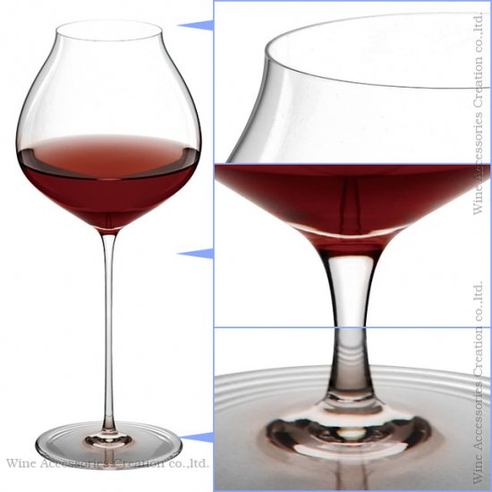 WINEX/HTT ブルゴーニュ Plus(プラス)グラス 6脚セット【正規品】 GH206KCx6