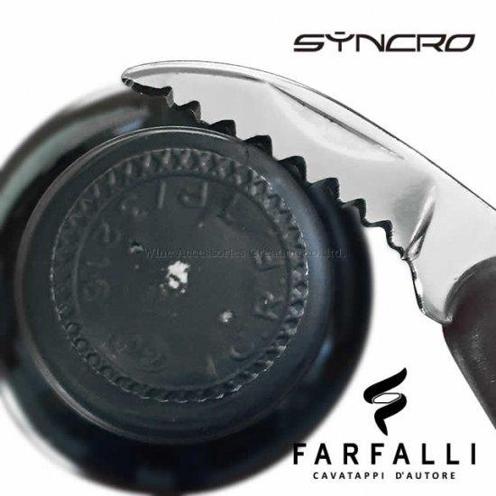 Farfalli シンクロ ソムリエナイフ ブルー SM020BL