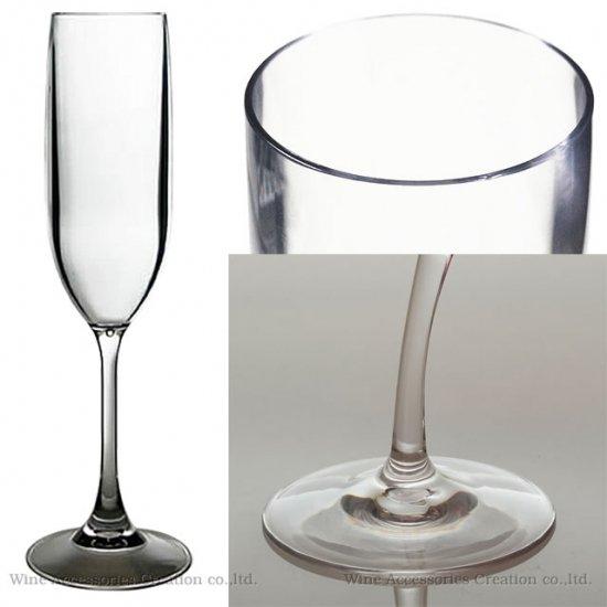 トライタン 樹脂製 シャンパングラス 12脚セット【正規品】 GC705TRx12