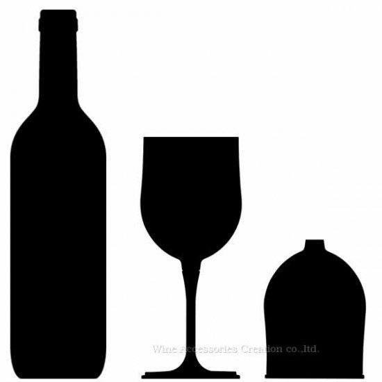 ハイマウント アウトドアワイングラス GJ711PC