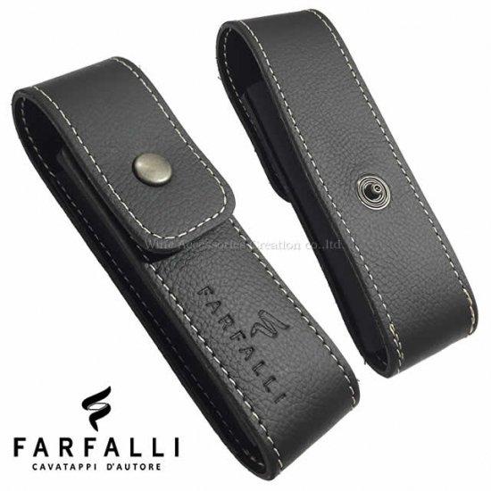 Farfalli ソムリエナイフ用レザーケース  SC511BK