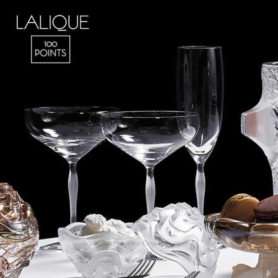 LALIQUE ラリック 100ポイント シャンパンフルート【正規品】CP  10331200