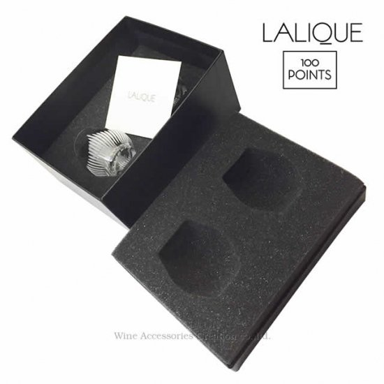 LALIQUE ラリック 100ポイント ショットグラス 2個セット【正規品】CP  10484800