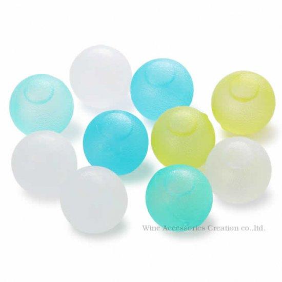 クリスタル アイスボール 10個パック(ブルー、イエロー、ホワイトのアソート) BS550CB