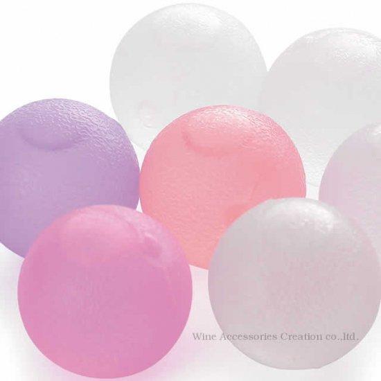 クリスタル アイスボール 10個パック(ピンク、パープル、ホワイトのアソート) BS550CP