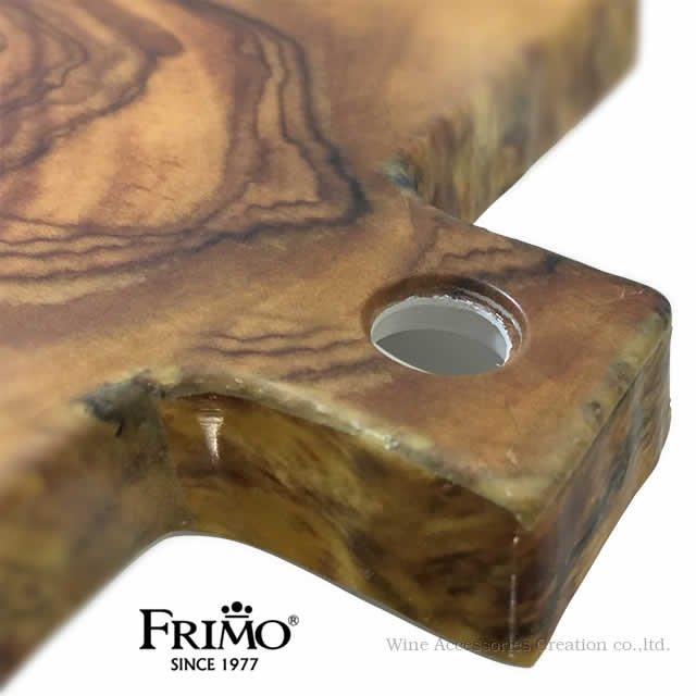 Frimo フリモ ハンドル付き スクエアボード アフリカンウッド YC002ME