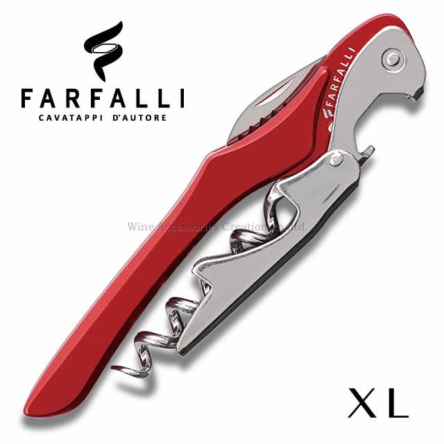 Farfalli XL ソムリエナイフ アルミハンドル レッド SC106RE