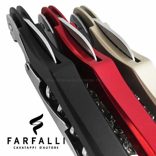 Farfalli XL ソムリエナイフ アルミハンドル ブラック SC106BK