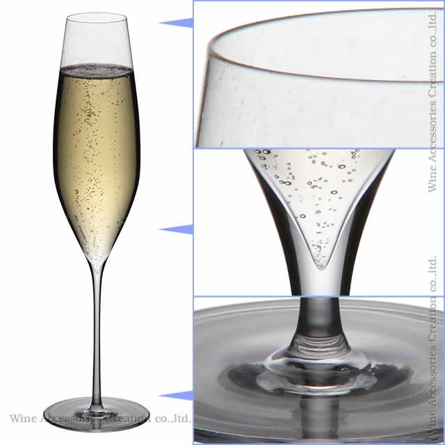 WINEX/STT シャンパーニュ グラス 2脚セット【正規品】 GS102KCx2