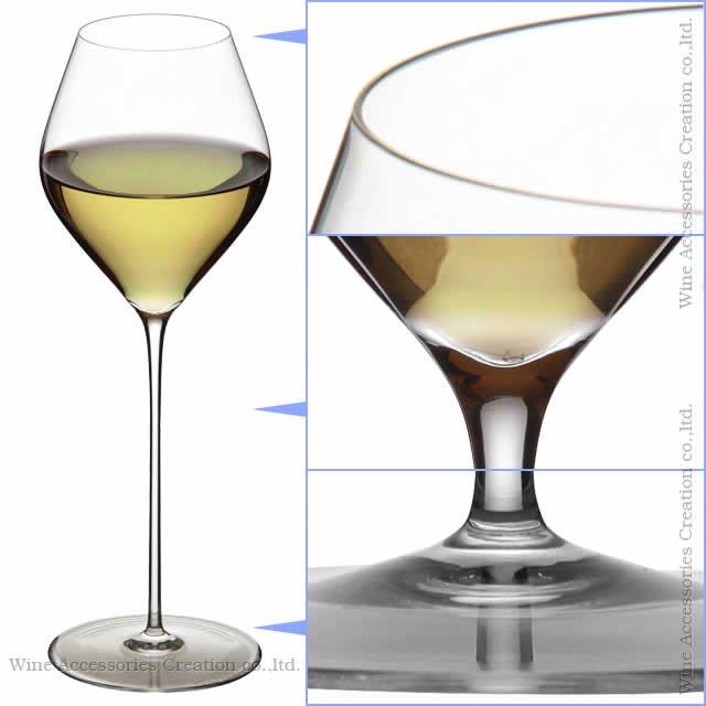 WINEX/HTT ソフィアホワイトワイン グラス 6脚セット【正規品】 GH309KCx6
